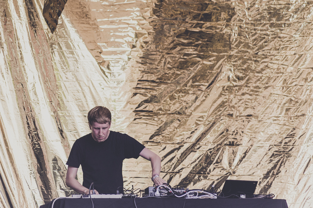 Dorian Concept, MoMA PS1 Warm Up, Saturday, August 8, 2015. Photo: Charles Roussel