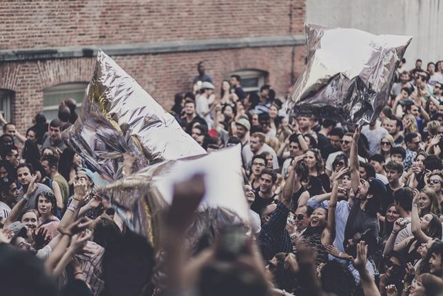 MoMA PS1 Warm Up, Saturday, August 8, 2015. Photo Charles Roussel