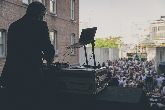 Cut Hands, MoMA PS1 Warm Up, Saturday, August 15, 2015. Photo: Charles Roussel