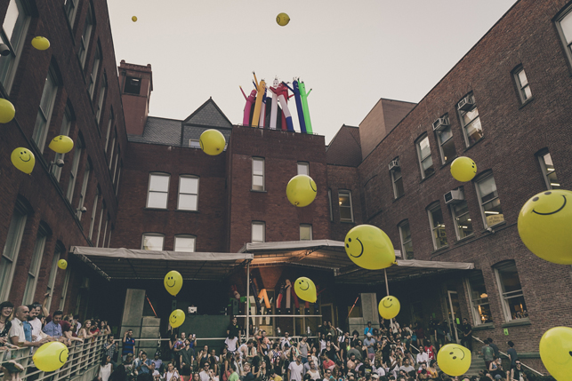 MoMA PS1 Warm Up, Saturday, August 15, 2015. Photo: Charles Roussel
