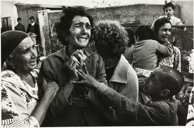 Don McCullin. Turkish woman mourning the death of her husband, Cyprus, 1964. 1964. Image courtesy Don McCullin and the filmmakers