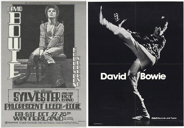 Ziggy Stardust Tour Poster