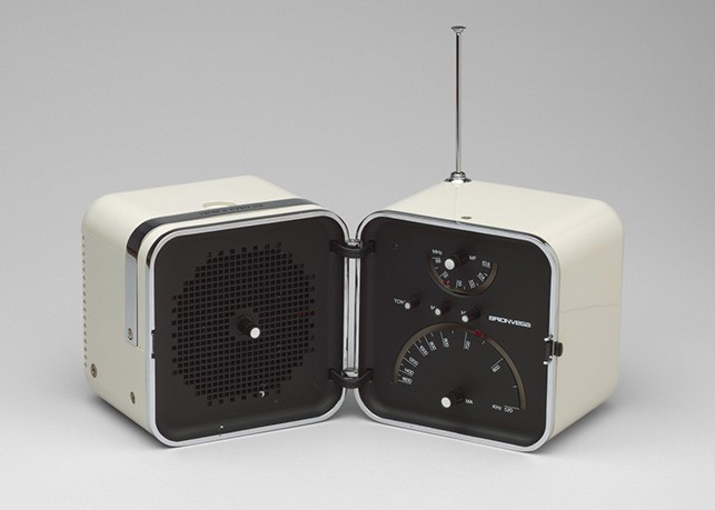 Marco Zanuso, Richard Sapper. Radio (model TS 502) (shown open). 1963.