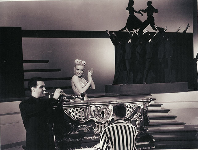 Betty Grable in Meet Me After the Show. 1951. USA. Directed by Richard Sale