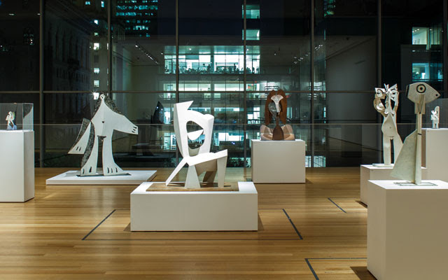 All works by Pablo Picasso. © 2016 Estate of Pablo Picasso/Artists Rights Society (ARS), New York. Installation view of Picasso Sculpture, The Museum of Modern Art, New York, September 14, 2015–February 7, 2016. © 2016 The Museum of Modern Art. Photo: Pablo Enriquez