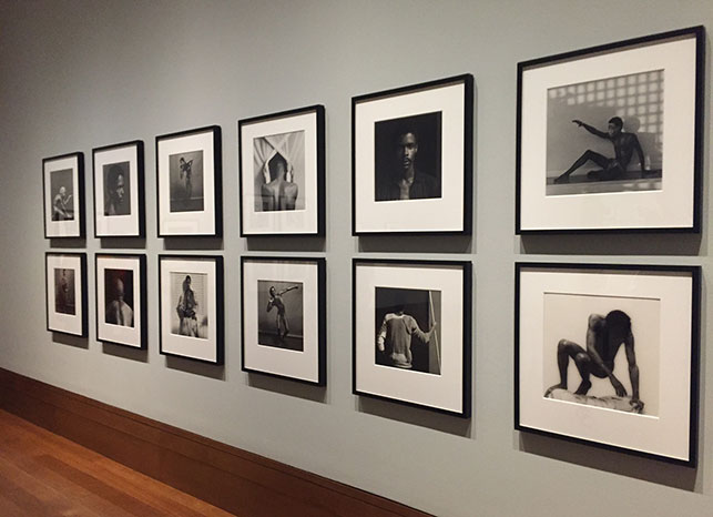 Installation view of Robert Mapplethorpe: The Perfect Medium, The J. Paul Getty Museum, March 15–July 31, 2016. Photo: Annikka Olsen