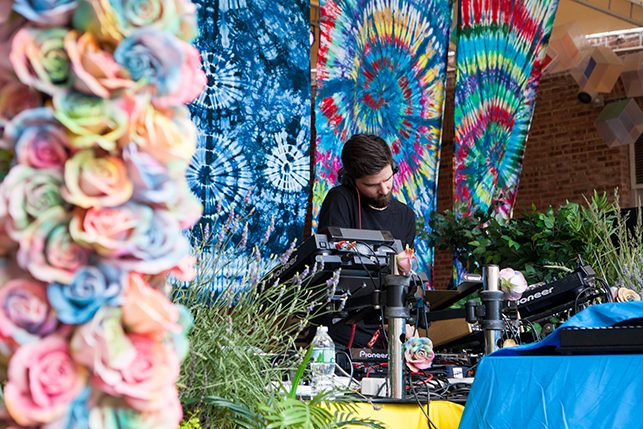 Guiddo performs at MoMA PS1's Warm Up on June 18, 2016. Image courtesy of MoMA PS1. Photo: Derek Schultz