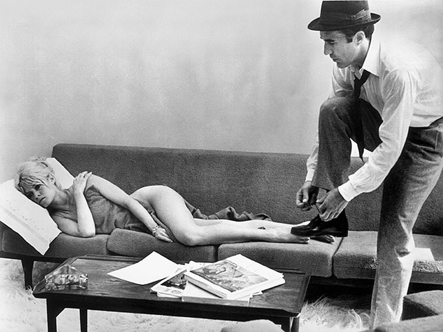 Le mépris (Contempt). 1963. France/Italy. Directed by Jean-Luc Godard. Courtesy of Photofest