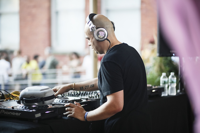 Doc Scott performing at MoMA PS1's Warm Up on August 13, 2016. Image courtesy of MoMA PS1. Photo: Charles Roussel