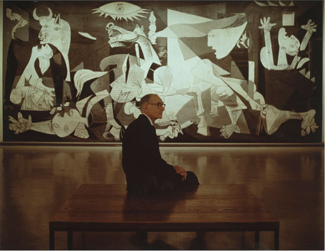 MoMA | Original Stretcher for Picasso's Guernica Rediscovered in ...